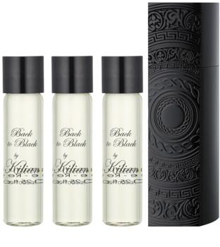 By Kilian Back to Black, Aphrodisiac woda perfumowana unisex 4 x 7,5 ml (1x napełnialny + 3x napełnienie)