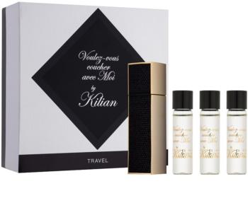 By Kilian Voulez-Vous Coucher Avec Moi eau de parfum unisex 4 x 7,5 ml (1x reincarcabil + 3x rezerva)