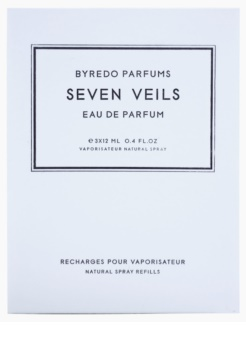 Byredo Seven Veils Eau de Parfum unisex 3 x 12 ml Dreifach-Nachfüllpackung mit Zerstäuber