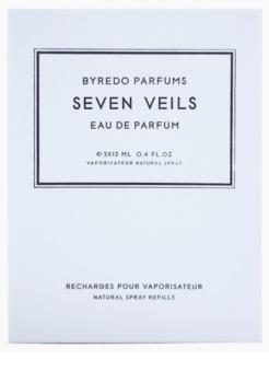 Byredo Seven Veils parfumska voda uniseks 3 x 12 ml (3x polnilo z razpršilcem)