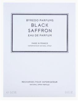 Byredo Black Saffron eau de parfum mixte 3 x 12 ml (3x recharge avec vaporisateur)