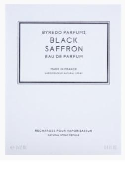 Byredo Black Saffron Eau de Parfum unisex 3 x 12 ml (3x Refill with Vaporiser)
