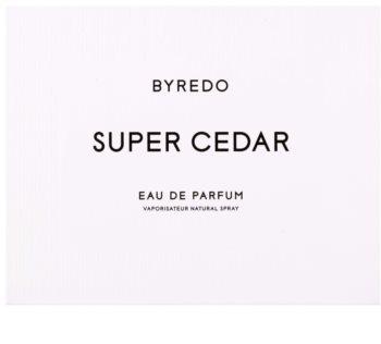 Byredo Super Cedar eau de parfum mixte 50 ml