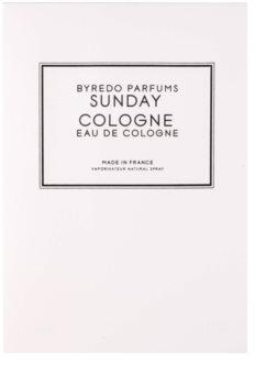 Byredo Sunday Cologne kolínská voda unisex 250 ml