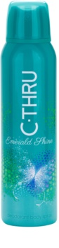 C-THRU Emerald Shine desodorante en spray para mujer 150 ml