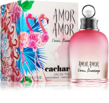 Cacharel Amor Amor LEau Flamingo Eau de Toilette for Women 50 ml Limited Edition Summer 2017