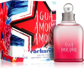 Cacharel Agua de Amor Amor Summer 2018 Eau de Toilette voor Vrouwen  50 ml Limited Edition  Fiesta Cubana Collection