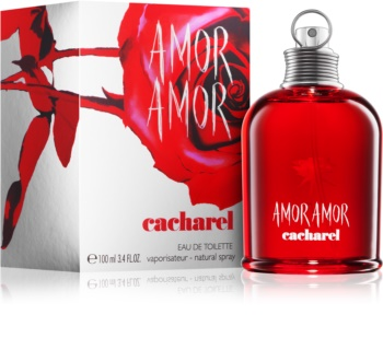 Cacharel Amor Amor Eau De Toilette For Women 100 Ml Notinofi