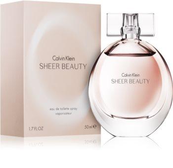 Calvin Klein Sheer Beauty Eau de Toilette Damen 50 ml