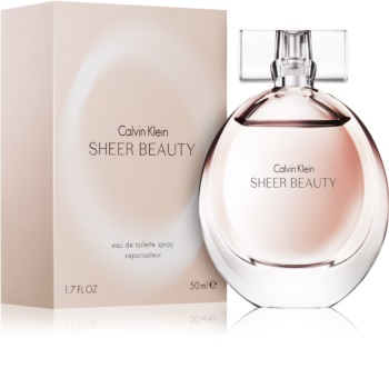 Calvin Klein Sheer Beauty eau de toilette pour femme 50 ml