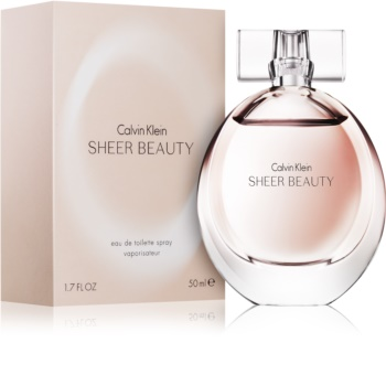 Calvin Klein Sheer Beauty Eau de Toilette voor Vrouwen  50 ml