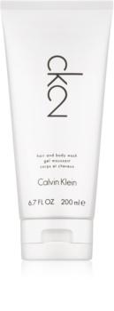 Calvin Klein CK2 gel douche mixte 200 ml