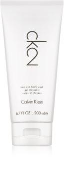 Calvin Klein CK2 sprchový gel unisex 200 ml