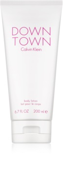 Calvin Klein Downtown leite corporal para mulheres 200 ml