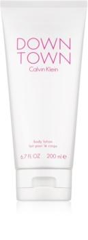 Calvin Klein Downtown telové mlieko pre ženy 200 ml