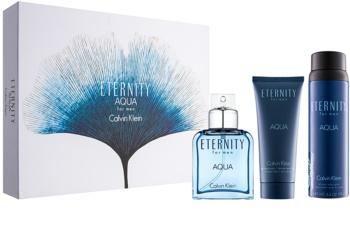 Calvin Klein Eternity Aqua for Men lote de regalo IX.