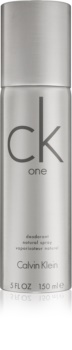 Calvin Klein CK One Deo met verstuiver Unisex 150 gr