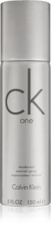 Calvin Klein CK One déodorant avec vaporisateur mixte 150 g