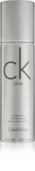 Calvin Klein CK One desodorizante vaporizador unissexo 150 g