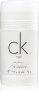 Calvin Klein CK One dédorant stick mixte 75 g