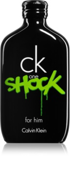 Calvin Klein CK One Shock Eau de Toilette for Men 100 ml