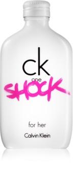 Calvin Klein CK One Shock eau de toilette da donna 100 ml