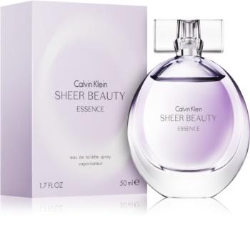 Calvin Klein Sheer Beauty Essence Eau de Toilette for Women 50 ml