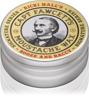 Captain Fawcett Ricki Hall´s cera para bigode