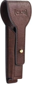 Captain Fawcett Accessories kožna futrola za aparat za brijanje