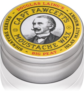 Captain Fawcett Big Peak cire pour moustache