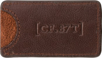 Captain Fawcett Accessories Leather Case for Pocket Comb