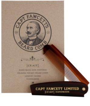 Captain Fawcett Accessories češalj za bradu na sklapanje