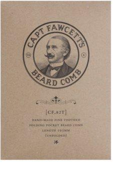 Captain Fawcett Accessories peigne pliable barbe