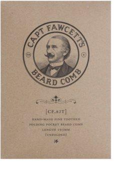 Captain Fawcett Accessories skladací hrebeň na bradu