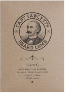 Captain Fawcett Accessories skládací hřeben na plnovous