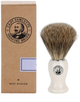Captain Fawcett Shaving čopič za britje iz dlake jazbeca