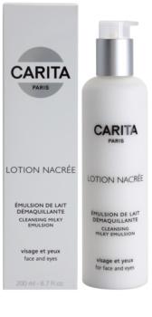 Carita Cleansing čistiaca pleťová emulzia na tvár a oči