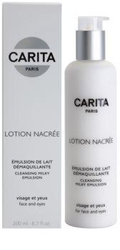 Carita Cleansing čisticí pleťová emulze na obličej a oči