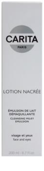 Carita Cleansing loción facial limpiadora  para rostro y ojos