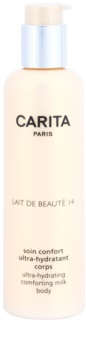 Carita Beauté 14 hidratáló testápoló tej bambusszal