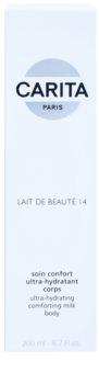 Carita Beauté 14 hydratačné telové mlieko s bambuckým maslom