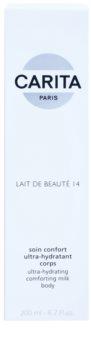 Carita Beauté 14 hydratisierende Körpermilch mit Bambus Butter