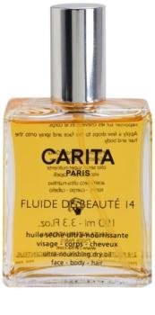Carita Beauté 14 θρεπτικό ξηρό λάδι Για  πρόσωπο, σώμα και μαλλιά