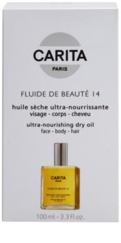 Carita Beauté 14 aceite seco nutritivo para cara, cuerpo y cabello
