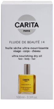Carita Beauté 14 odżywczy suchy olejek do twarzy, ciała i włosów