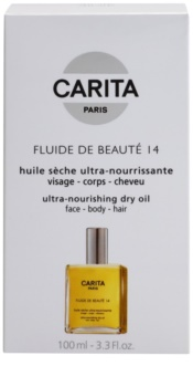 Carita Beauté 14 vyživující suchý olej na obličej, tělo a vlasy