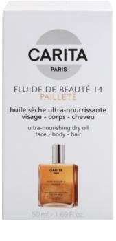 Carita Beauté 14 tápláló száraz olaj csillámporral