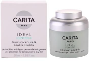 Carita Ideal Controle emulzija s efektom pudera za mješovitu i masnu kožu lica