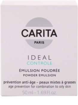 Carita Ideal Controle emulze s pudrovým efektem pro mastnou a smíšenou pleť