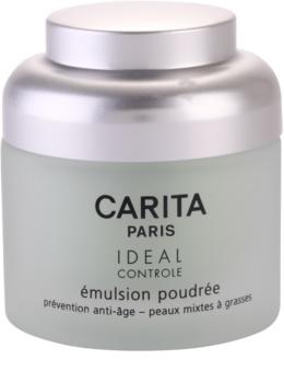 Carita Ideal Controle emulzió púderes hatással kombinált és zsíros bőrre
